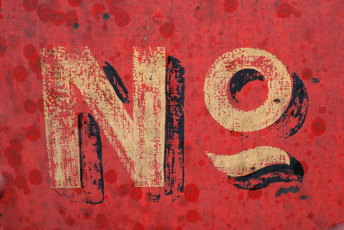 The words NO on a red background.